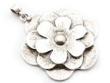 Round w/Floral Design Pendant 79mm (AP2031)
