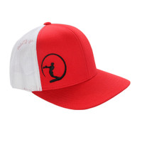 Dewey Weber Icon Mesh Back Hat - Red