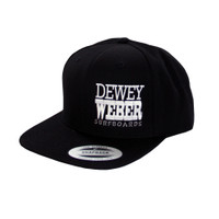 Dewey Weber Block Hat - Black
