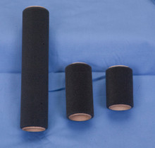 Black Poly Foam Paint Roller Covers