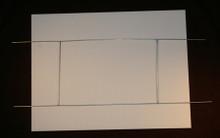 White Corrugated Sign Blank / Yard Stake Combo Packs
