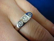 GYPSY 3 DIAMOND LADIES RING 0.40 CT T.W.