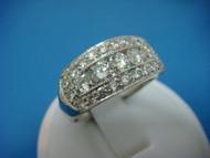 1.75 CARAT MEN'S DIAMOND WEDDING-ANNIVERSARY RING HIGH QUALITY 9.5 MM WIDE