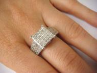 2 CTTW Diamond Ladies Engagement Ring
