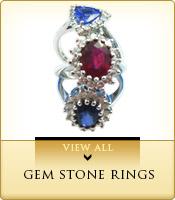 Gem Stone Rings