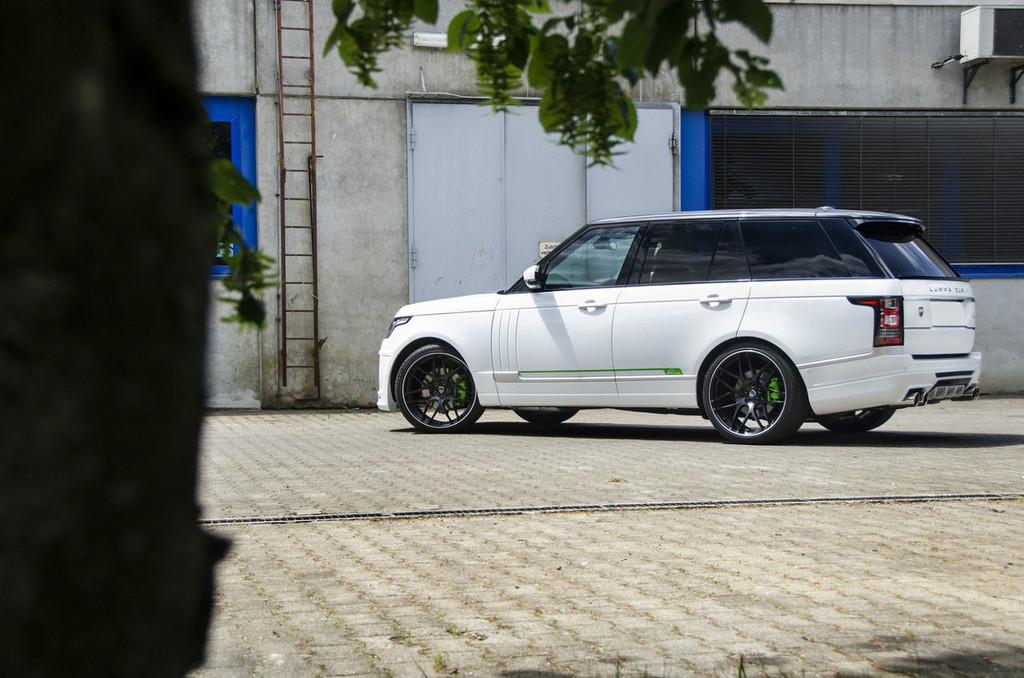 Range Rover Vogue Lumma Design Body kit CLR-SR