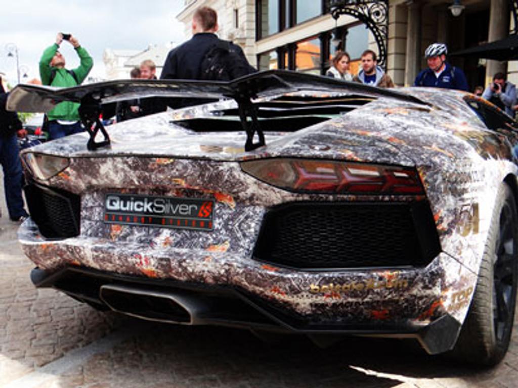 Lamborghini Aventador LP700-4 - Titanium SSP QuickSilver Exhaust System (2012 on)