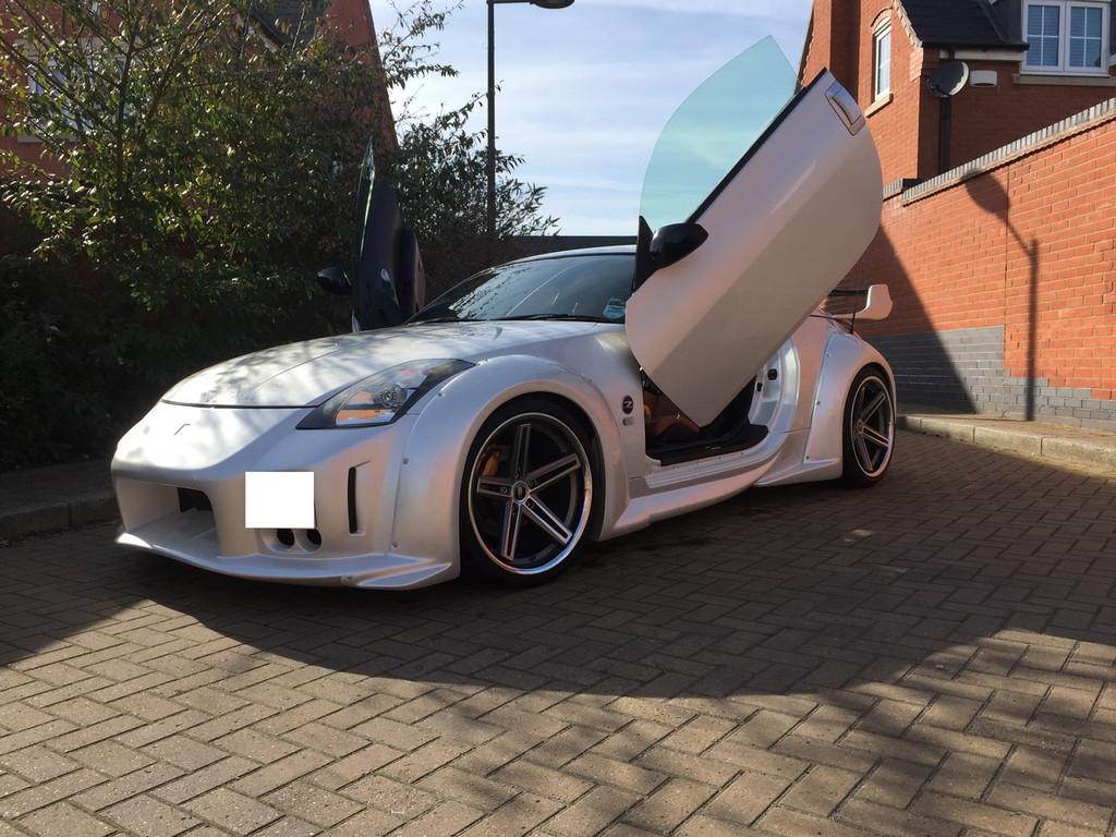 Automotive Paintwork - Pearl White