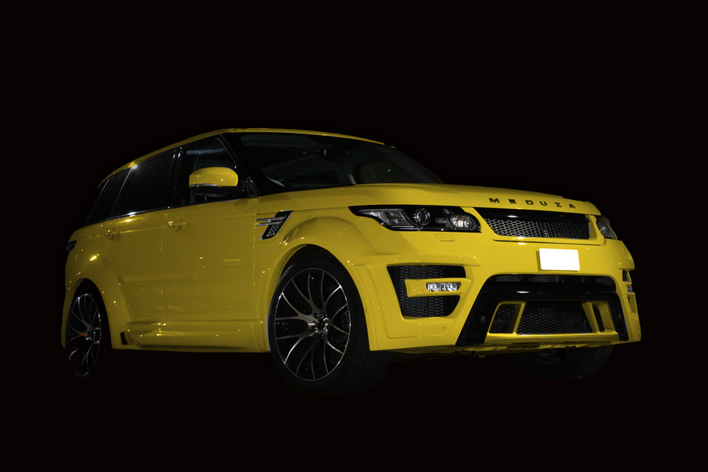 Range Rover Sport 2015 Meduza RS-700 Body Kit YELLOW