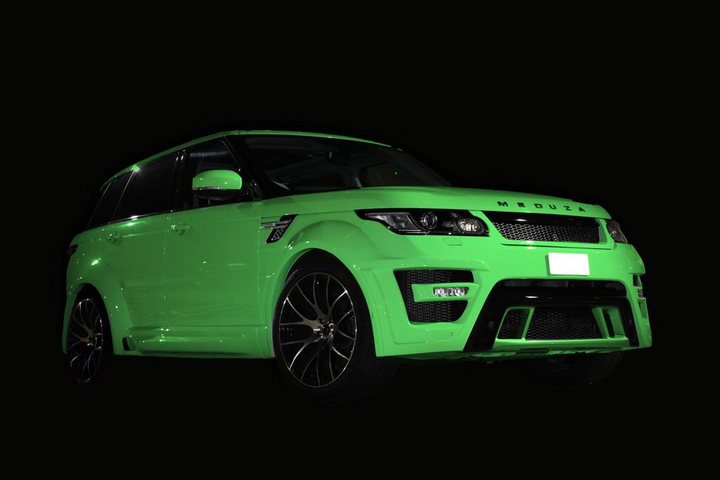 Range Rover Sport 2015 Meduza RS-700 Body Kit GREEN