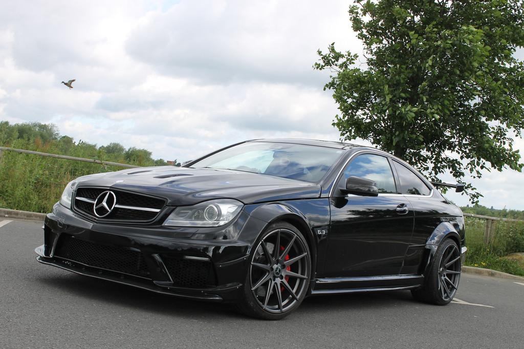 Mercedes Benz Coupe C63 AMG Black Series Conversion