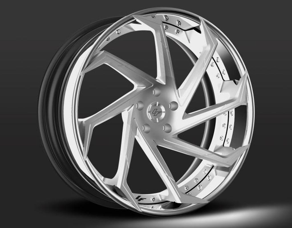 "22"" Alloy Wheels Lexani LZ-117 Forged Range"