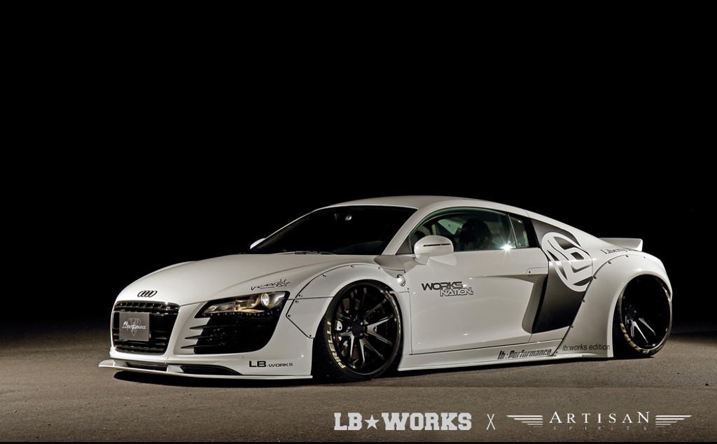 Audi R8 V10 Liberty Walk Bodykit
