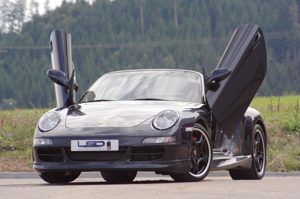 Porsche 997 LSD Door Conversion Kit