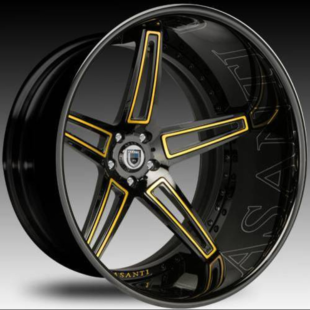 Asanti Alloy Wheels CX-506 24""