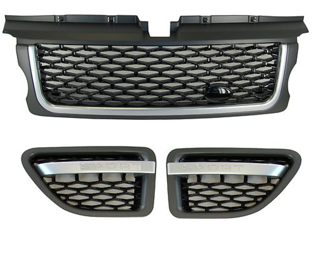 Range Rover Sport Autobiography Grille & Side Vents 2005-2009 Grey