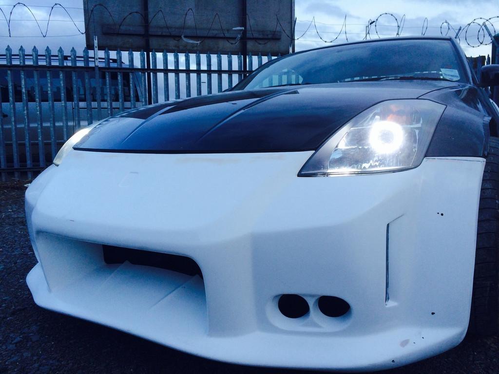 Nissan 350Z LED Headlight Conversion