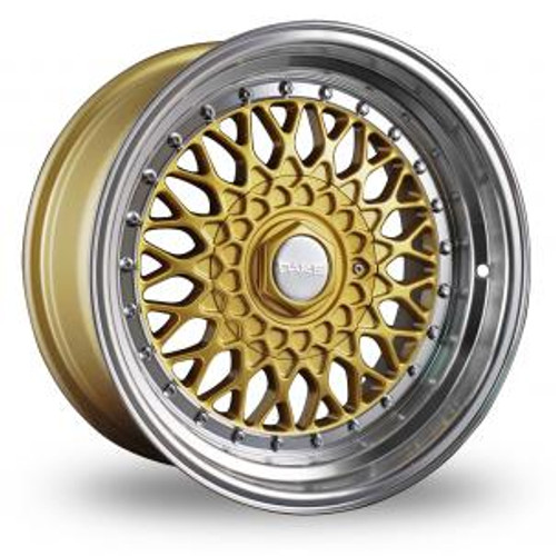"Dare RS Gold 15"" Alloy Wheels & Tyres"