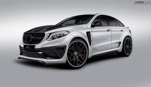 Mercedes-Benz GLE Lumma CLR G 800 Wide Body Conversion