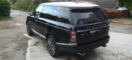 Range Rover 4.4 SDV8 Diesel Sport QuickSilver Exhaust (2013 on)