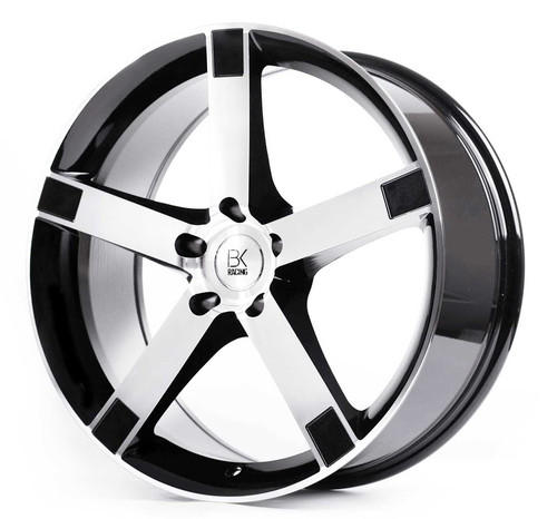 "BK Racing BK677 22"" Alloy Wheels"