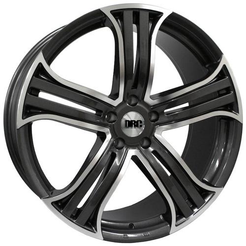 "DRC-DRR 22"" Alloy Wheels Gunmetal"