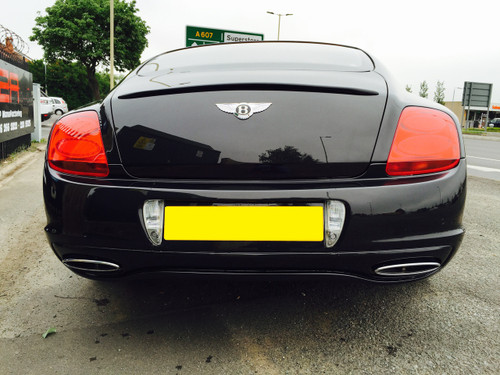 Bentley Continental GT/GTC Supersport Rear Bumper including tailpipes