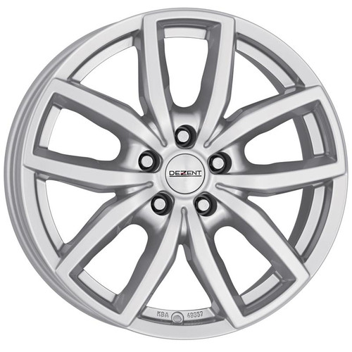 "Dezent TE Alloy Wheels 18"" Silver"