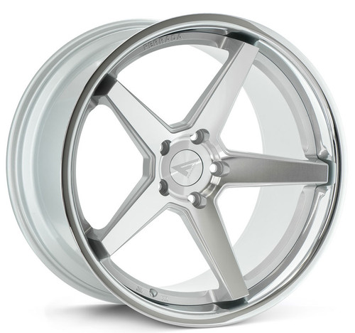 "Ferrada FR3 9 x 20"" Alloy Wheels Machine Silver"