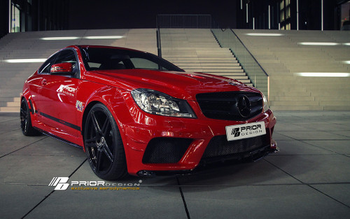 Mercedes C Class Coupe W204 Prior Design Wide Bodykit