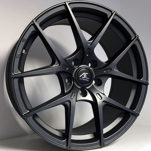 "AC Supremo 18"" Alloy Wheels Matt Dark Grey"
