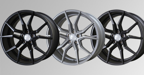 """Judd 20"""" T402 Alloy Wheels Staggered Fitment"""