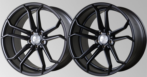 """Judd 20"""" T502 Alloy Wheels Staggered Fitment"""