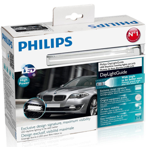 Philips LED DRL Daytime Running Light Kit OEM Quality