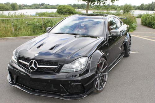 Mercedes Benz Coupe C63 AMG Black Series Conversion