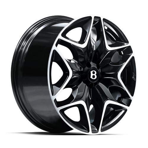 """22"""" Alloy Wheels Kahn Split 6 Bentley Application"""