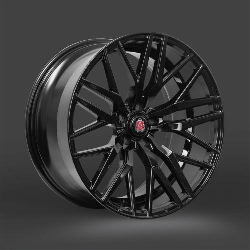 "AXE EX30 220"" Alloy Wheels Gloss Black"