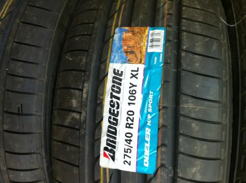 275/40 20 106Y XL Bridgestone Dueler H/P Sport