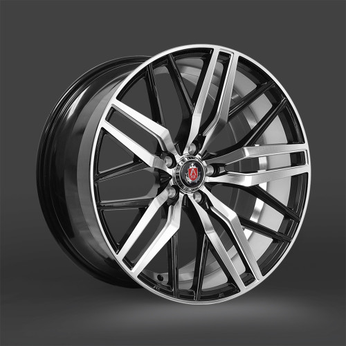 "AXE EX30 22"" Alloy Wheels Gloss Black Polished Face"