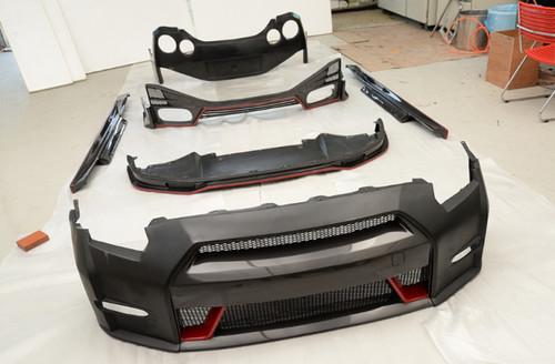 Nissan Skyline R35 GTR Nismo Style Body Kit