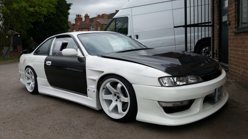 Nissan 200SX S14A BN-Style Front Fenders +25mm