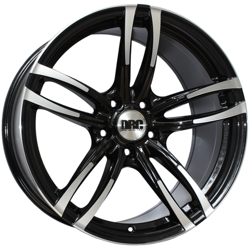 "19"" DRC DMF Alloy Wheels in Staggered Fitment"
