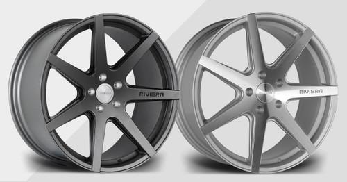 "20"" Riviera RV177 Alloy Wheels Gunmetal or Polished Face"
