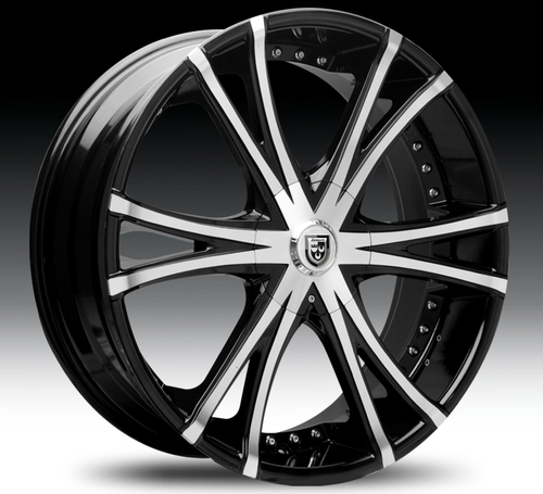 "20"" Lexani LX-12 Alloy Wheels"