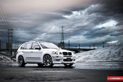 "22"" Vossen VVS-CV1 Alloy Wheels & Tyres BMW X5"