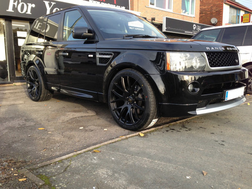 "22"" Alloy Wheels Panther Matt Black"