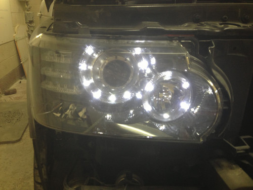 Range Rover Vogue 2003-2009 2013 Headlight Upgrade Genuine Landrover Parts Facelift
