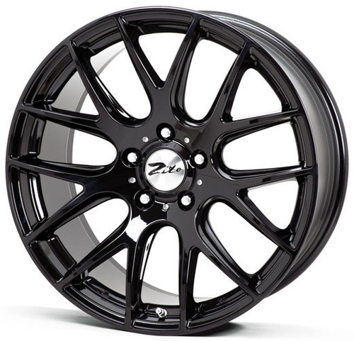 "Zito 935 22"" Alloy Wheels Black"