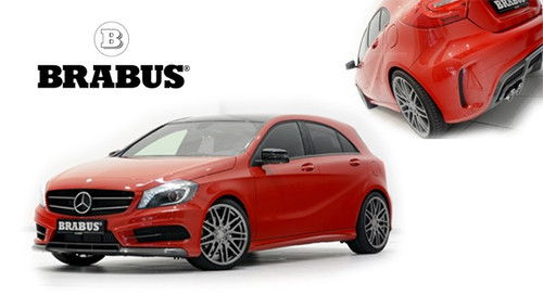 Mercedes A Class Brabus Body Kit