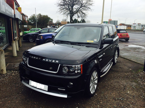 Range Rover Sport 2005 Face Lift Conversion to Autobiography 2013
